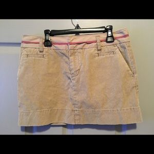 American Eagle Outfitters corduroy mini skirt.